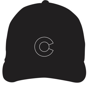 COLORADO ~ OUTLINE ~ HAT
