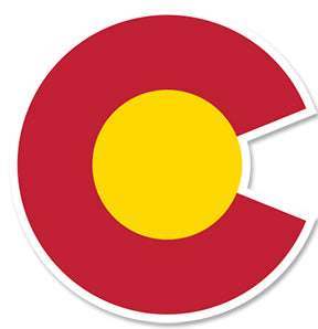 COLORADO LOGO ~ STICKERS (15) ~ 3