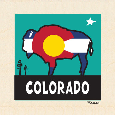 COLORADO BUFFALO ~ 6x6