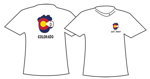COLORADO ~ COL BEER ~ MUG OUTLINE