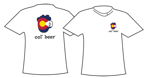 COL BEER ~ MUG OUTLINE ~ COLORADO