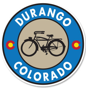 DURANGO COLORADO ~ AUTOCYCLE ~ STICKERS (15) ~ 3