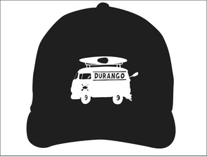 DURANGO ~ VW BUS ~ KAYAK ~ BOATIN' LOGO ~ HAT