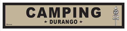 DURANGO ~ OLD WEST ~ CAMPING ~ RR XING