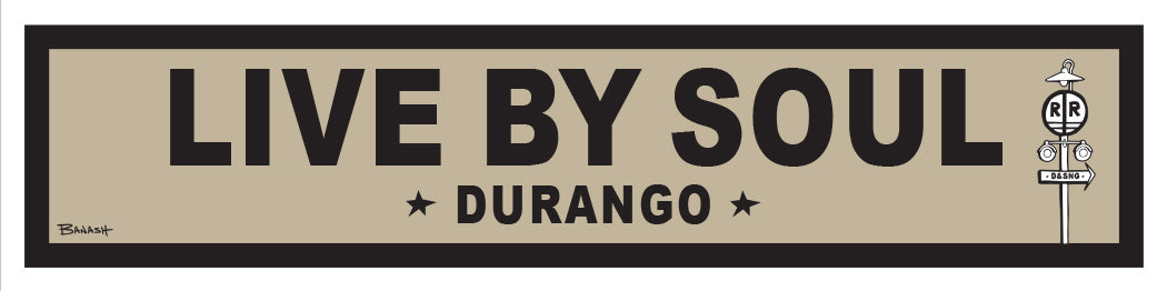 DURANGO ~ LIFESTYLE ~ LIVE BY SOUL ~ RR XING