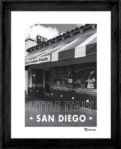 SAN DIEGO ~ LITTLE ITALY ~ FILIPPIS PIZZA GROTTO ~ 16x20