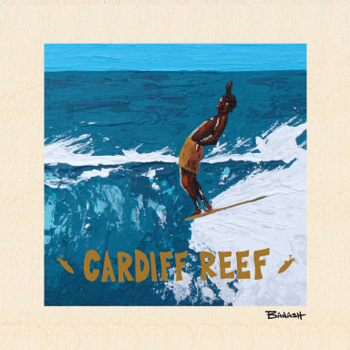CARDIFF REEF ~ FIRST RIDE ~ 6x6
