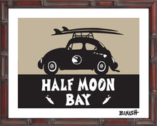 Load image into Gallery viewer, HALF MOON BAY ~ CATCH A SURF ~ BUG ~ BAMBOO FRAME