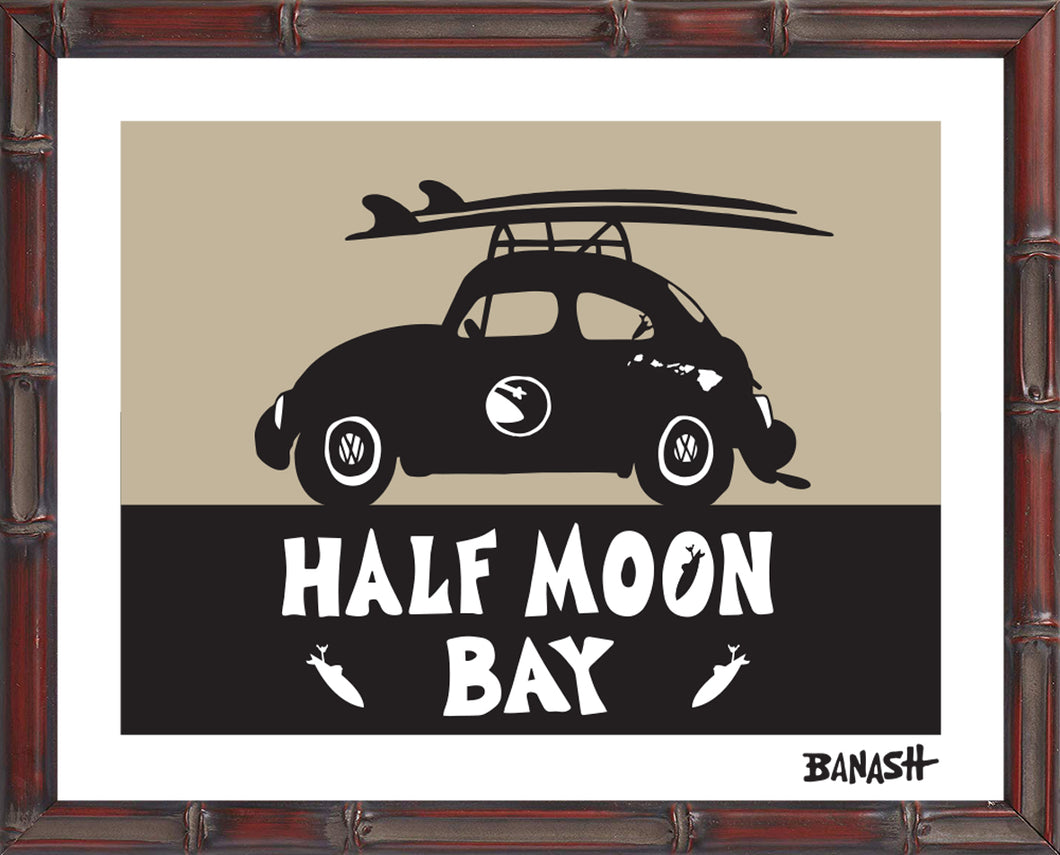 HALF MOON BAY ~ CATCH A SURF ~ BUG ~ BAMBOO FRAME