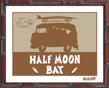 Load image into Gallery viewer, HALF MOON BAY ~ CATCH SAND ~ BUS ~ BAMBOO FRAME