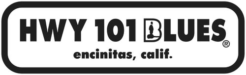 HWY 101 BLUES ~ LOGO ~ STICKERS (15) ~ 4