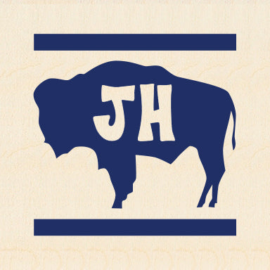 JH ~ BUFFALO ~ COMP STRIPE ~ 6x6