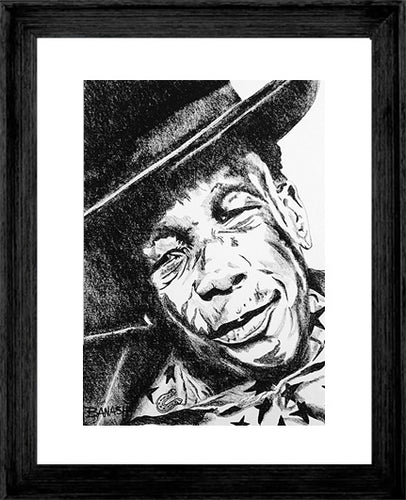 JOHN LEE HOOKER ~ MR LUCKY ~ 16x20