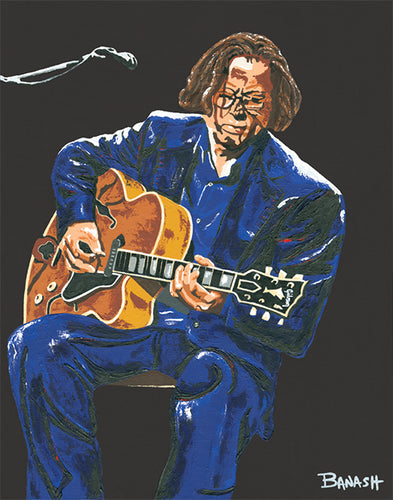 HWY101BLUES ~ ERIC CLAPTON ~ LAYIN IT DOWN ~ CANVAS PRINT