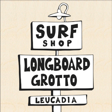 LONGBOARD GROTTO SURF SHOP ~ 6x6