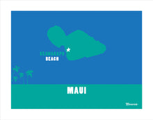 Load image into Gallery viewer, MAUI ~ KEAWAKAPU BEACH ~ MAUI ISLAND ~ PRINT ~ 11x14