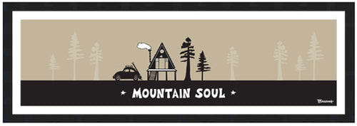 MOUNTAIN SOUL ~ NORTH COUNTY ~ SKI BUG ~ A FRAME HUT ~ 8x24