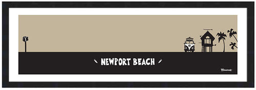 NEWPORT BEACH ~ SURF HUT ~ 8x24