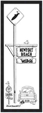 Load image into Gallery viewer, NEWPORT BEACH ~ THE WEDGE ~ 8x24