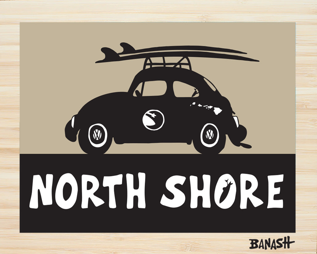 OAHU ~ CATCH A SURF ~ NORTH SHORE ~ BUG ~ BLACK N TAN ~ BAMBOO