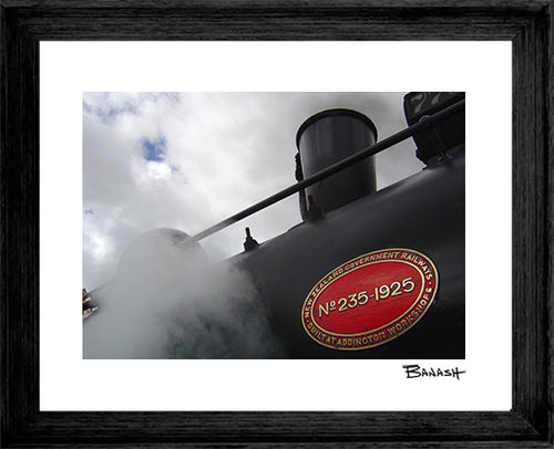 NEW ZEALAND RAILWAYS ~ BLACK FRAMED PRINT ~ 16x20