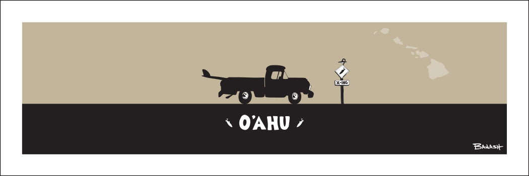 OAHU ~ CATCH A SURF ~ PICKUP