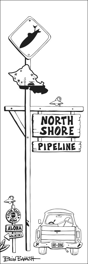 OAHU ~ NORTH SHORE ~ PIPELINE ~ SURF ~ SURF XING