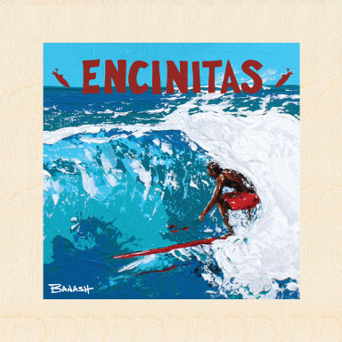 ENCINITAS ~ POCKET ~ 6x6