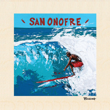 SAN ONOFRE ~ POCKET ~ 6x6