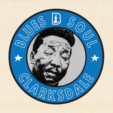 CLARKSDALE ~ MUDDY WATERS ~ PURE MUDDY BLUES ~ BLUES SOUL ~ 6x6