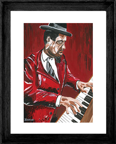 THELONIOUS MONK ~ RED MONK ~ 16x20