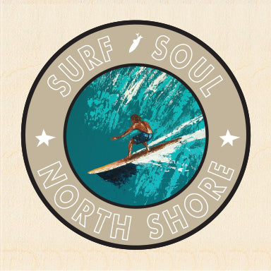 RIGHT FACE ~ SURF SOUL ~ NORTH SHORE ~ 6x6