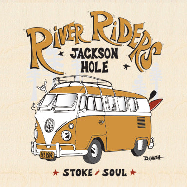 RIVER RIDERS ~ CALIF STYLE BUS ~ 6x6