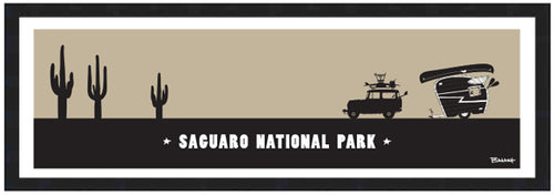 SAGUARO NATIONAL PARK ~ 8x24