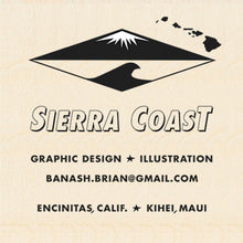 Load image into Gallery viewer, SIERRA COAST ~ VECTOR ART