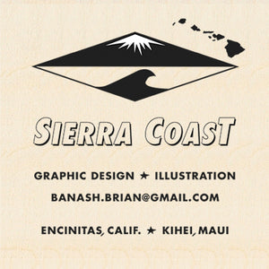 SIERRA COAST ~ GRAPHIC DESIGN ~ ILLUSTRATION