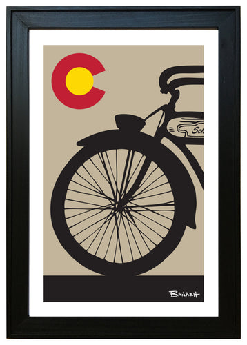 COLORADO ~ SCHWINN ~ FRONT END ~ 12x18