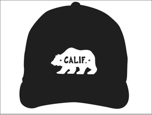 STONE GREMMY BRAND ~ BEAR ~ CALIF. ~ HAT