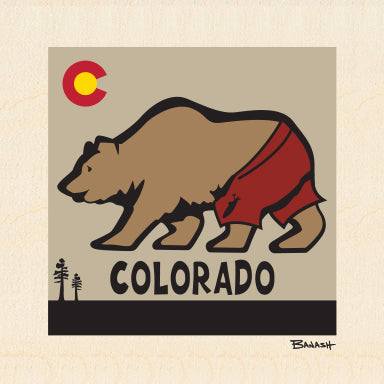 COLORADO BEAR ~ 6x6