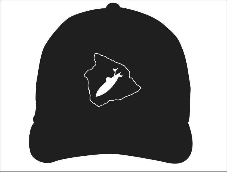 STONE GREMMY ~ BIG ISLAND OUTLINE ~ HAT
