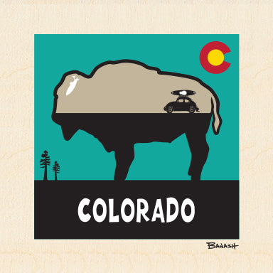 COLORADO ~ BUFFALO ~ RIVER BUG ~ 6x6