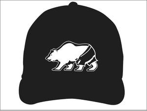 STONE GREMMY BRAND ~ CALIF. BEAR ~ SURF TRUNKS ~ HAT