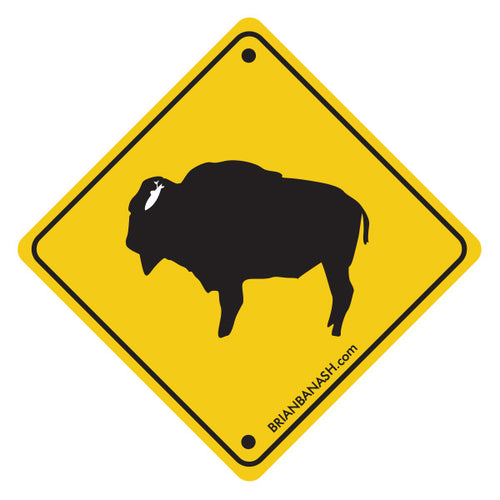 GREM CALIF BUFFALO XING ~ STICKERS (15) ~ 3