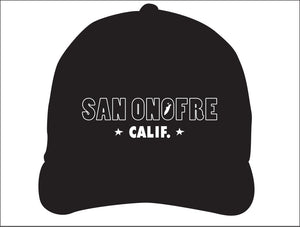STONE GREMMY ~ SAN ONOFRE ~ CALIF. ~ HAT
