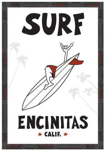 SURF ENCINITAS ~ 12x18