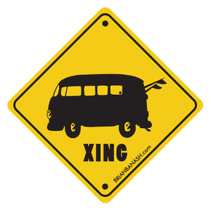 GREM BUS XING ~ STICKERS (15) ~ 3""
