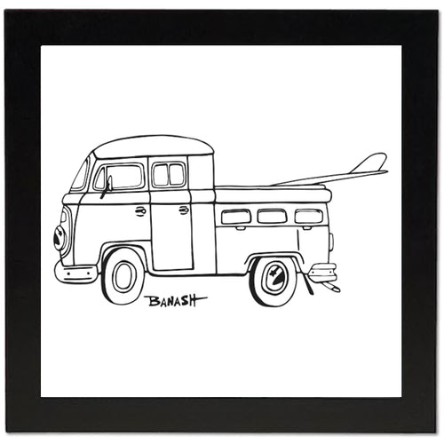 SIMPLE SURF TRUCK BUS ~ 12x12