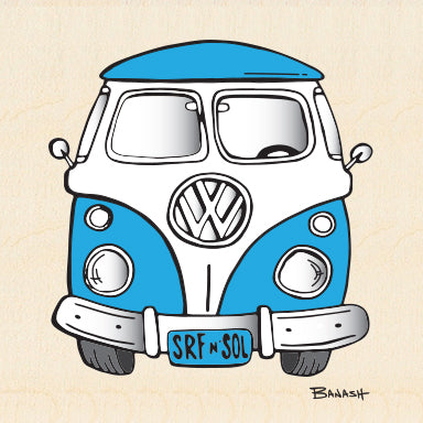 SIMPLE VW BUS GRILL ~ 6x6