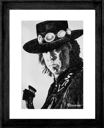 STEVIE RAY VAUGHAN ~ SRV TEXAS FLOOD ~ 16x20