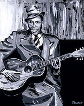 Load image into Gallery viewer, HWY101BLUES ~ ROBERT JOHNSON ~ STEADY ROLLIN MAN ~ CANVAS PRINT ~ 16x20